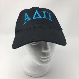 Alpha Delta Pi baseball hat cap black ADPi NWOT